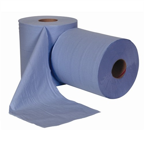 Centre Feed Rolls Blue 3 Ply 6 Rolls x 144m
