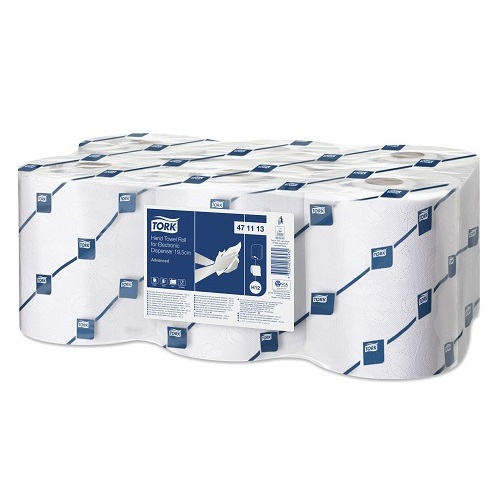 "Tork ""Enmotion"" Impluse Rolls White 2 Ply 6 x 143 m H13 (For use in old AH193 Dispenser)"