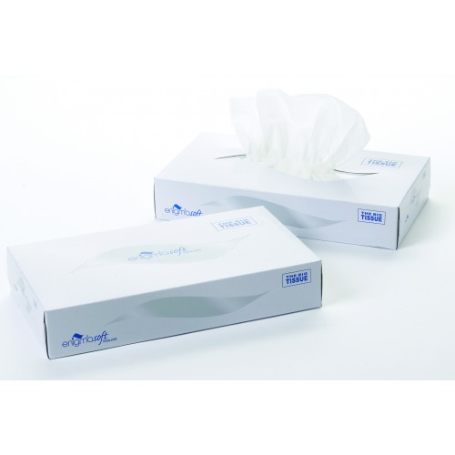 Man Sized Soft Tissues White 2 Ply 24 Boxes of 100's