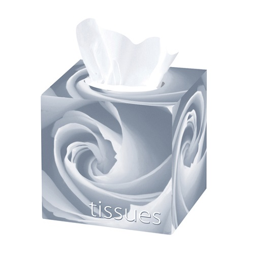 Premium Cubed Tissues White 2 Ply 24 Boxes of 70's