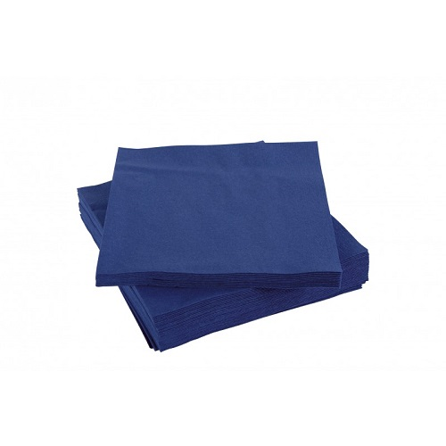 Lunch Napkins 2 ply Dark Blue 32 x 32cm 2000's