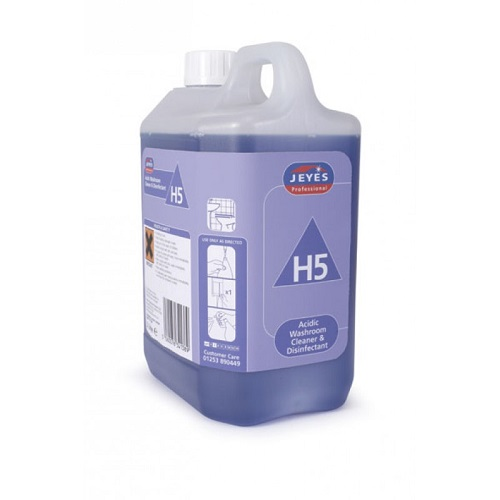 Superblend H5 Acidic Washroom Cleaner and Disinfectant 2 x 2 litres