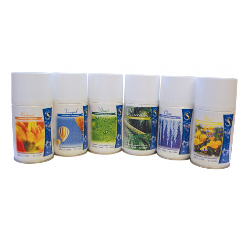 Air Care Refill 6 x 243 ml Aerosols - Mixed Fragrances