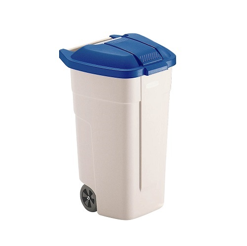 Mobile Wheelie Waste Container 100 litre (Lid not included)