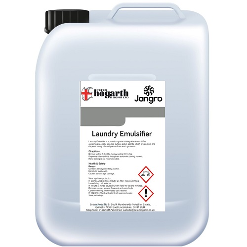 Laundry Emulsifier Grease Remover 10 litres