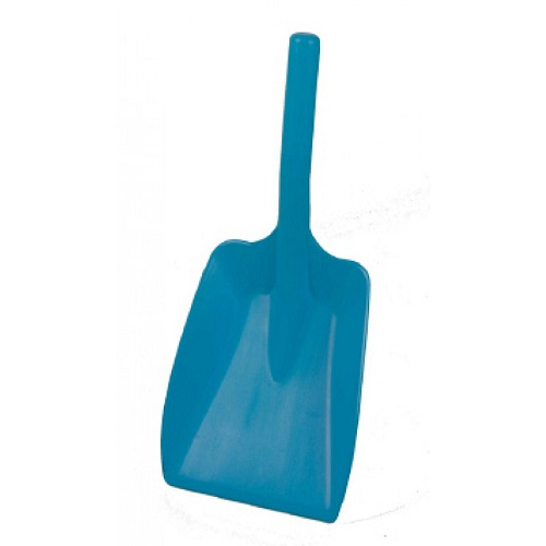 Hygiene Hand Shovel With Soft-Feel Grip Blue