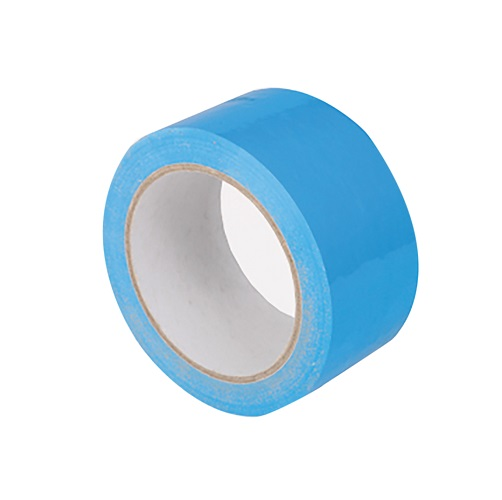 Vinyl Tape Blue 50mm x 66m Single Roll