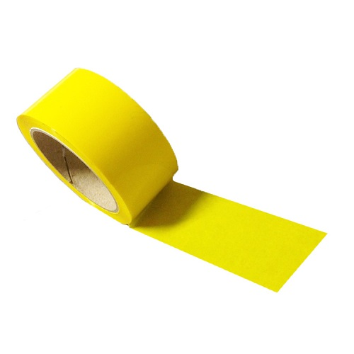 Vinyl Tape Yellow 48mm x 36m 36 Rolls per Case