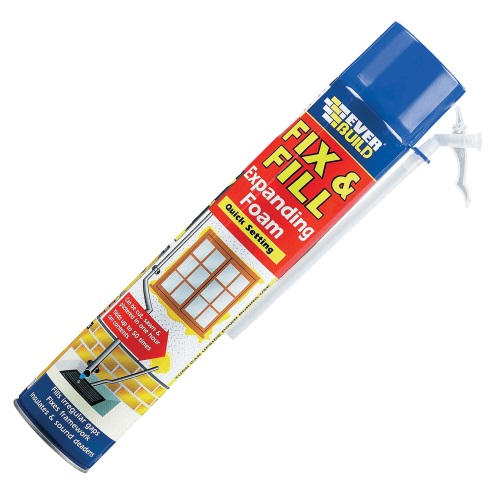 Fill and Fix Expanding Foam Filler Aerosol 750 ml
