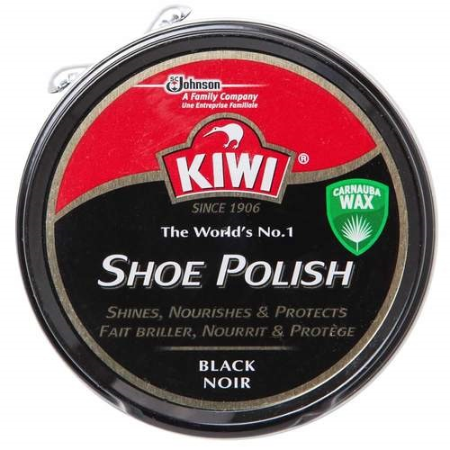 Kiwi Black Shoe Polish 50 ml Tin