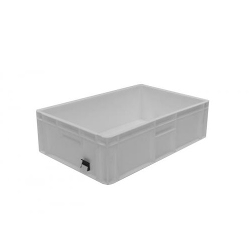 Heavy Duty Stacking Container White 600 x 400 x 175 mm