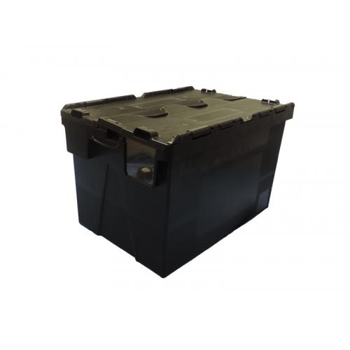 Heavy Duty Lidded Container 600 x 400 x 365 mm