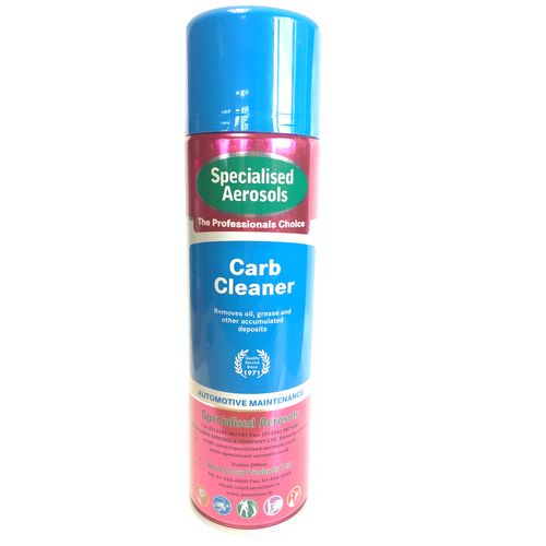 Carburettor Cleaner Aerosol 500 ml